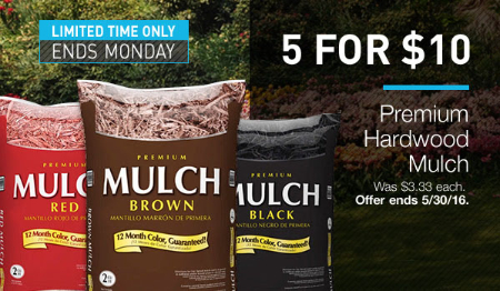 5 For $10 Mulch