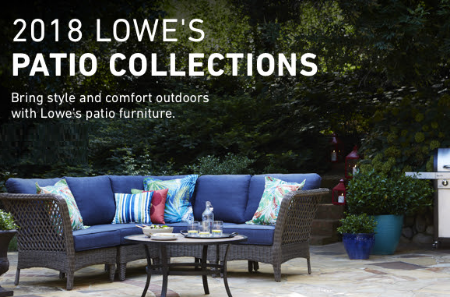 Make Your Dream Patio A Reality! Shop The 2018 Loweu0027s Patio Collections In  Store Today.