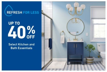 Jackson Crossing ::: Up to 40% Off Select Kitchen and Bath ...