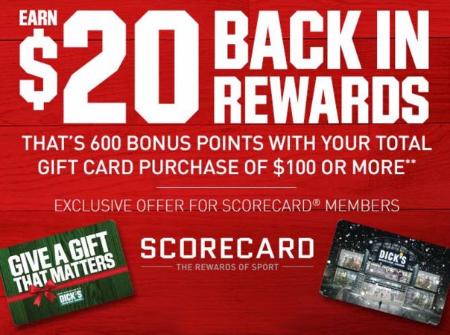 Earn $20 Back in Rewards