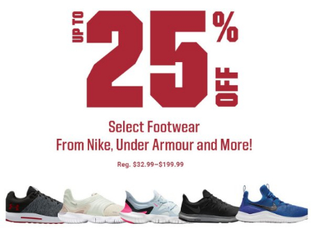 2ab13ae5beaa Dick's Sporting Goods | Up to 25% Off Select Footwear from Nike, Under  Armour