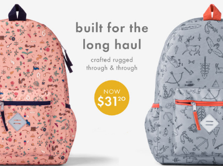 Backpacks for Only $31.20