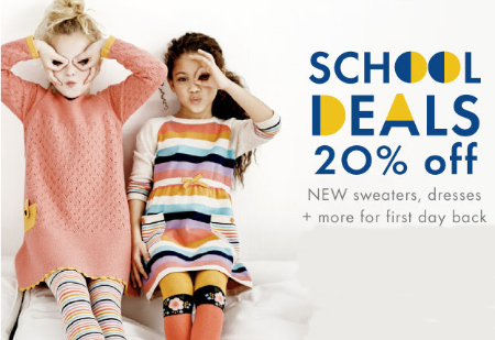 20% Off New Dresses, Sweaters & More