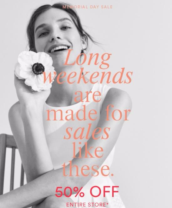 Holiday weekend ahead + holiday savings!