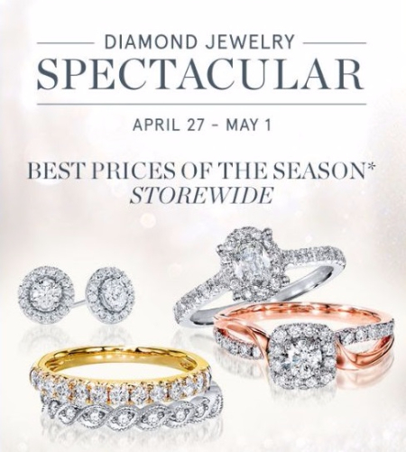 Diamond Jewelry Spectacular Sale