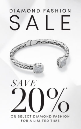 20% Off Diamond Fashion Sale from Jared - The Galleria Of Jewelry