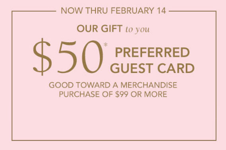 The Shoppes at Chino Hills 50 Preferred Guest Card at Jared the