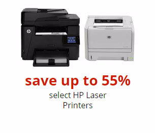 Up to 55% Off HP Laser Printers