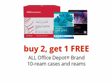 B2G1 Free 10-Ream Cases & Reams