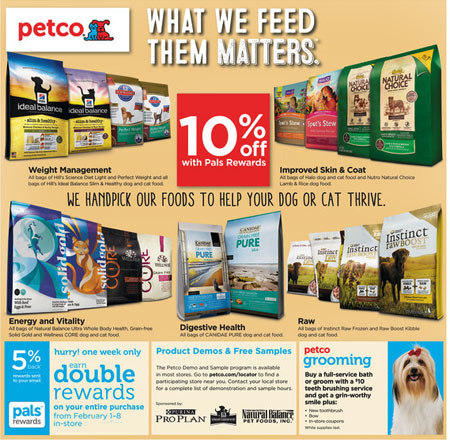 February Savings at petco
