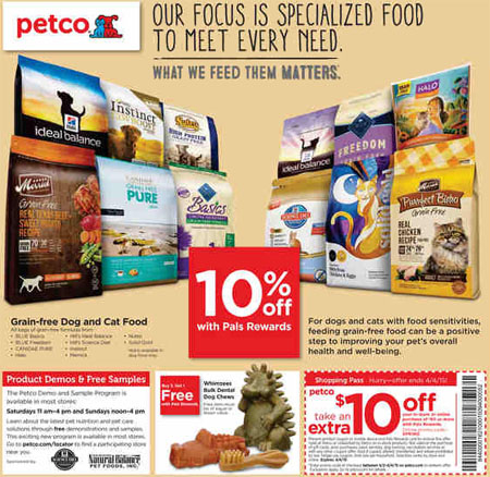 Shop April Savings at petco