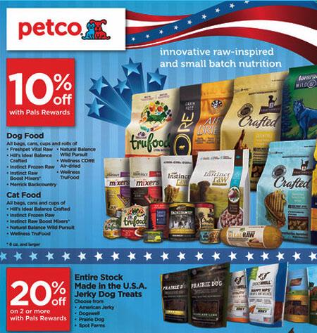 July Savings at petco