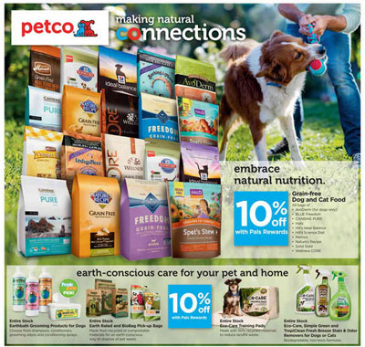 April Savings at petco