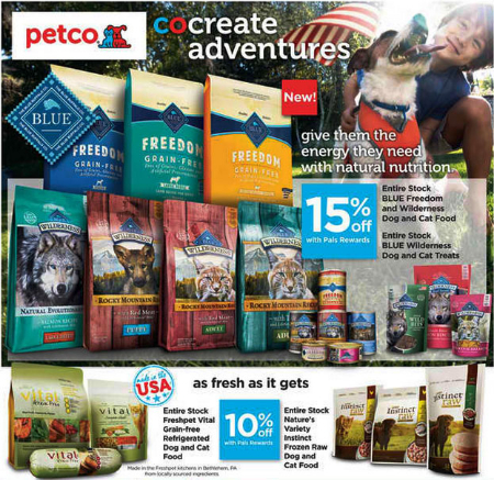 July Savings at petco