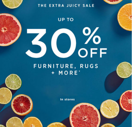 Up to 30% Off Sale at west elm