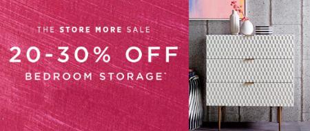 20-30% Off Bedroom Storage at west elm