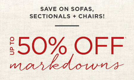 Up to 50% Off Markdowns at west elm