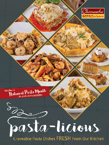 National Pasta Month!