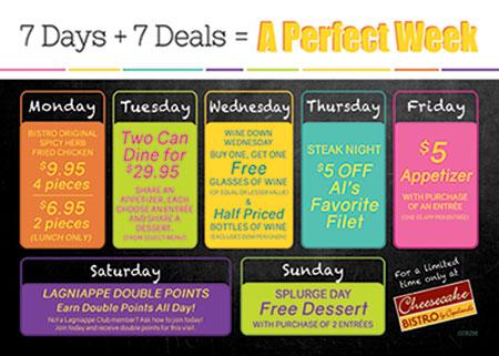 A Perfect Week of Deals!