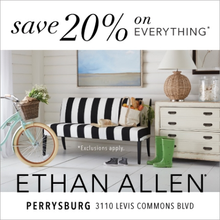 Ethan allen at the town center at levis commons in for Jewelry store levis commons perrysburg