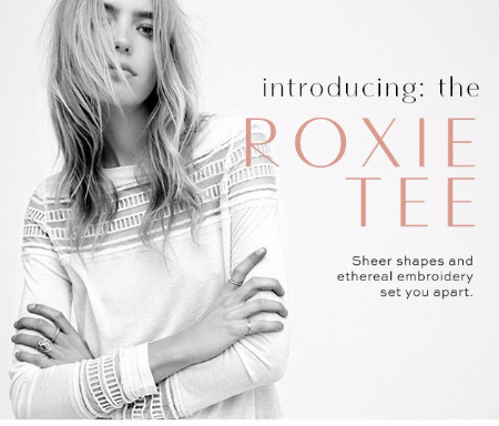 Introducing the Roxie Tee
