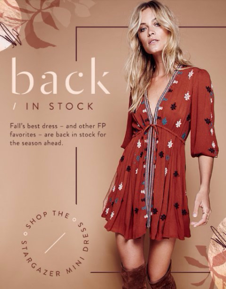 The Stargazer Mini Dress is Back
