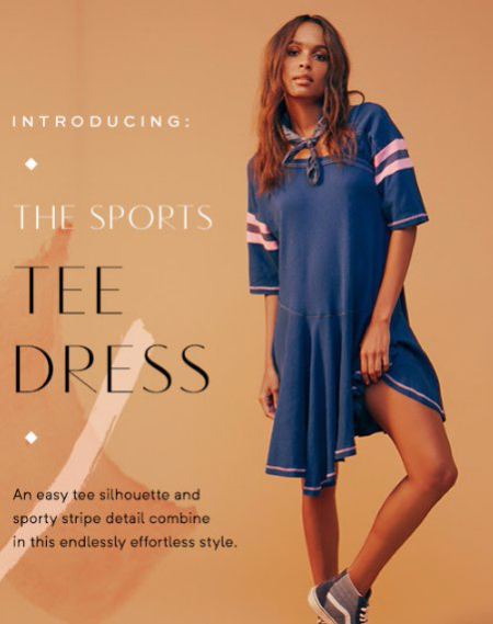 Introducing The Sports Tee Dress