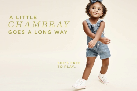 Cute Chambray Outfits for the Family