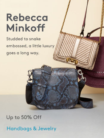 Nordstrom Rack Up To 50 Off Rebecca Minkoff Handbags Jewelry