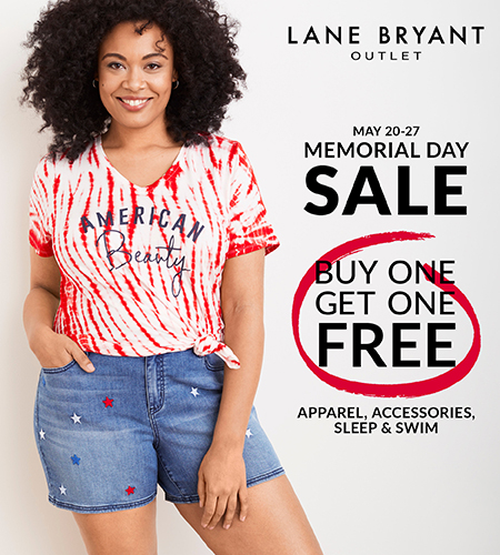 4431d55cd Westbrook Outlets     The Memorial Day Sale!     Lane Bryant Outlet
