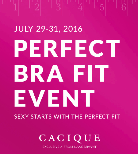 PERFECT BRA FIT EVENT JULY 29-31