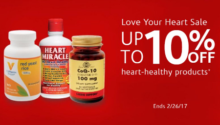 Up to 10% Off Heart-Healthy Products