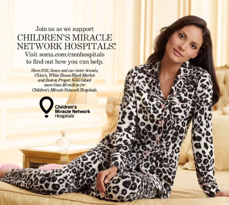 Support Children's Miracle Network Hospitals with Soma