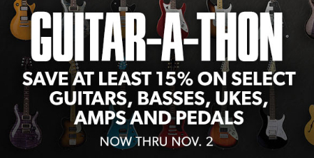 15% Off Guitar Sale at Guitar Center