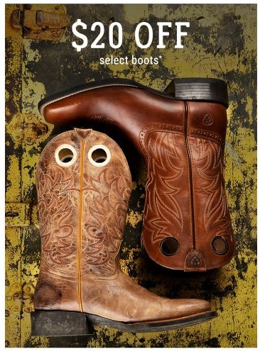 mesilla valley mall 20 off select boots boot barn