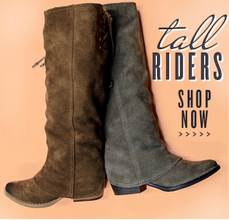 TALL RIDER BOOTS FROM NAUGHTY MONKEY