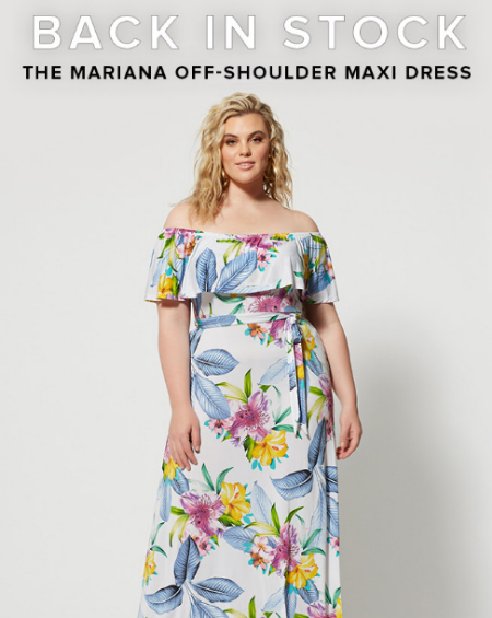 dfba1cdd5a033 The Mall at Stonecrest ::: Back in Stock: The Mariana Off - Shoulder ...