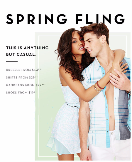 Spring Fling at G by GUESS