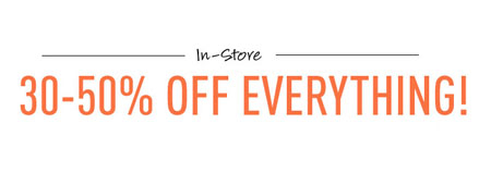 30-50% Off Everything at G by GUESS