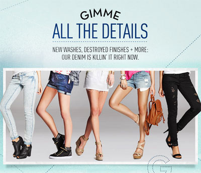 Sexy New Denim is Here at G by GUESS