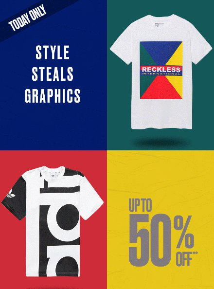 Mall at Fox Run ::: Up to 50% Off Graphics ::: PacSun