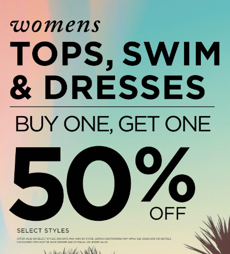 Buy One, Get One 50% off! at PacSun