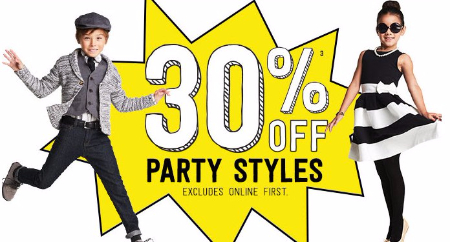 30% Off Party Styles