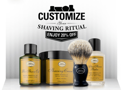 About The Art of Shaving. The Art of Shaving sells shaving kits with shaving creams, aftershaves, cleansers, lotions, exfoliants, and toners that make your shave clean and smooth.