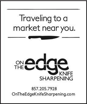 Sharpen Your Edges! -- A Pop-Up Shop with On the Edge Knife Sharpening