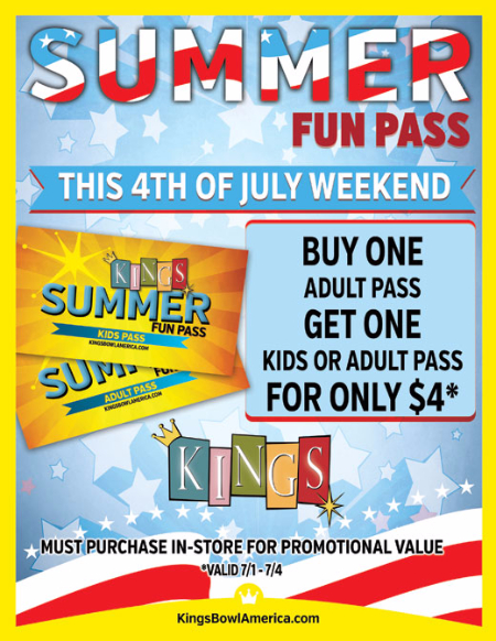 Summer Fun Pass 4th of July Sale!!!