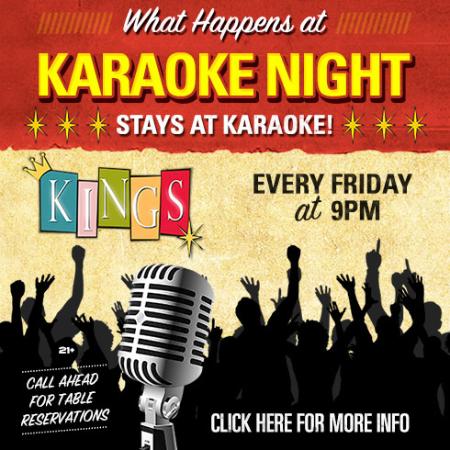 What Happens at Karaoke, Stays at Karaoke!
