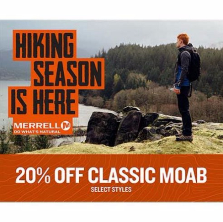 HIKING SEASON IS HERE!