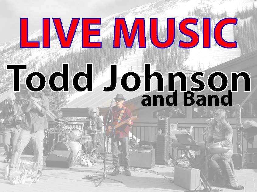 FREE LIVE MUSIC  Todd Johnson and Band