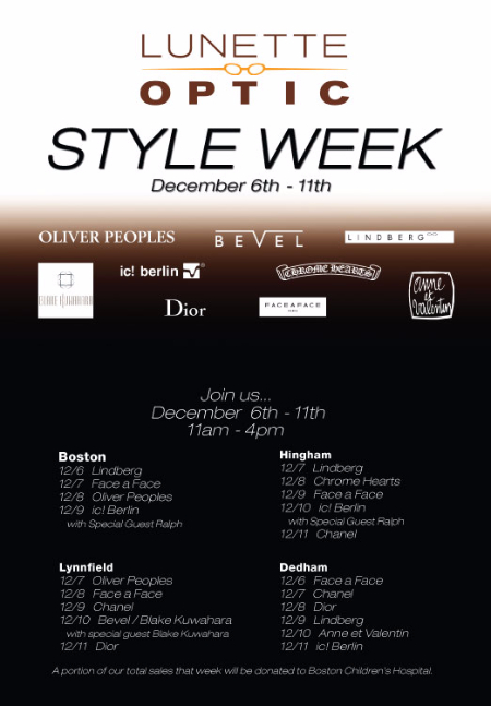 Style Week - Trunk Shows